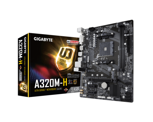 PLACA BASE AM4 GIGABYTE A320M-H mATX