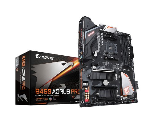 PLACA BASE AM4 GIGABYTE B450 AORUS PRO