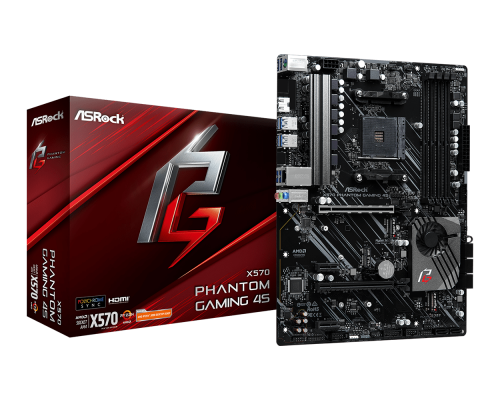 PLACA BASE AM4 ASROCK X570 PHANTOM GAMING 4S