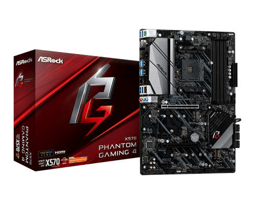 PLACA BASE AM4 ASROCK X570 PHANTOM GAMING 4