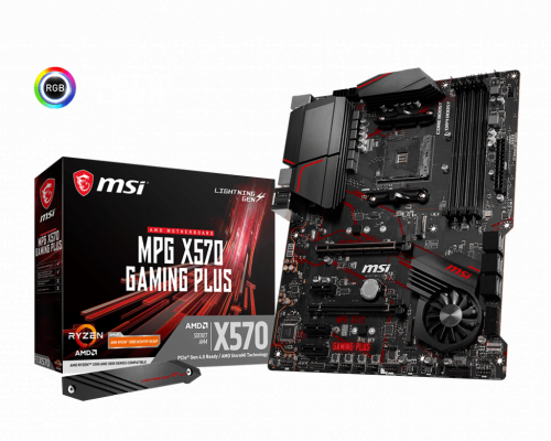 PLACA BASE AM4 MSI MPG X570 GAMING PLUS