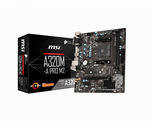 PLACA BASE AM4 MSI A320M PRO-M2 mATX