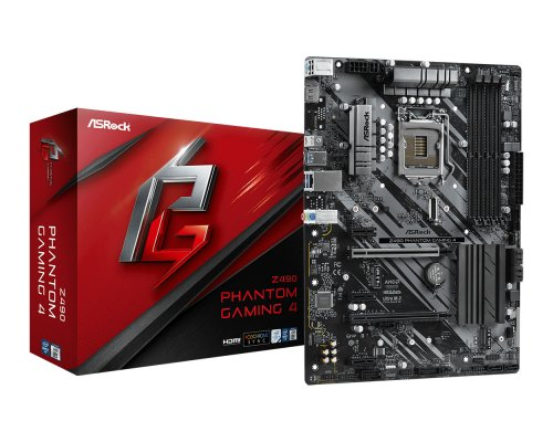 PLACA BASE s1200 ASROCK Z490 PHANTOM GAMING 4 ATX