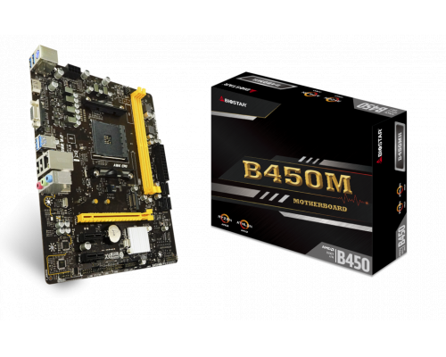 PLACA BASE AM4 BIOSTAR B450MH mATX