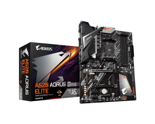 PLACA BASE AM4 GIGABYTE A520 AORUS ELITE