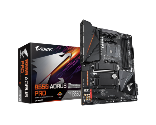PLACA BASE AM4 GIGABYTE B550 AORUS PRO AC