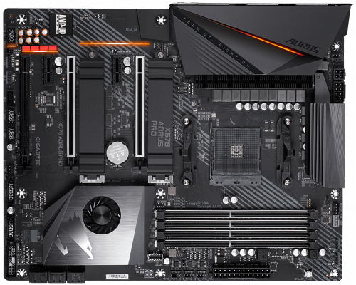 PLACA BASE AM4 GIGABYTE X570 AORUS PRO