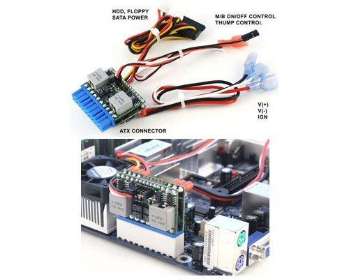 FUENTE 125W INTELIGENTE PICO-PSU M3-ATX DC-DC CAR-PC 6-24V