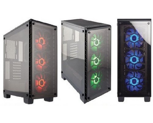 CAJA ATX CORSAIR CRYSTAL 460X RGB BLACK