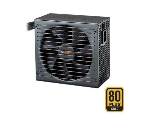 FUENTE 500W BEQUIET STRAIGHT POWER E10-CM-500W 80+GOLD