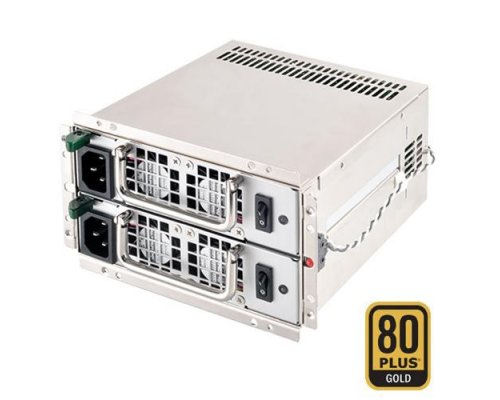 SILVERSTONE GM600-G GEMINI REDUNDANTE 600W+600W (80 PLUS GOL