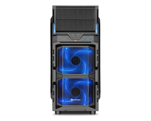 CAJA ATX SHARKOON GAMING VG5-W AZUL