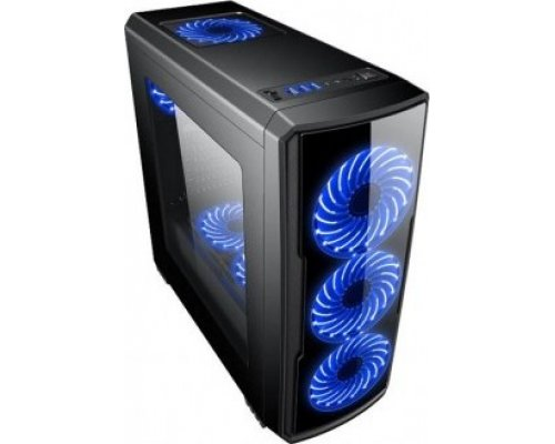 CAJA ATX COOLBOX DEEPGAMING DEEP STORM BLUE EDITION
