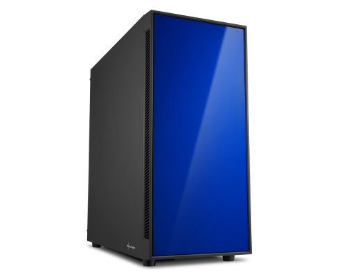 CAJA ATX SHARKOON GAMING AM5 SILENT AZUL