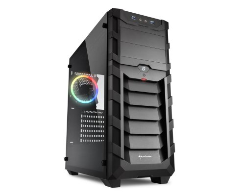 CAJA ATX SHARKOON GAMING SKILLER SGC1 RGB