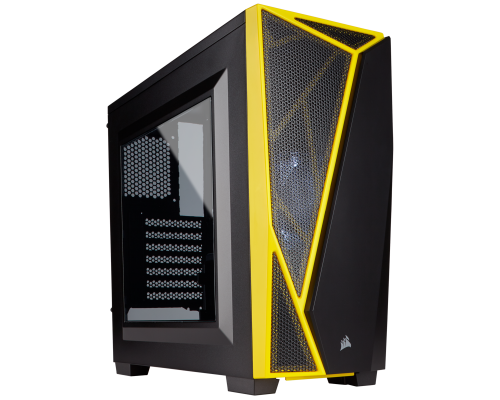 CAJA ATX CORSAIR CARBIDE SPEC-04 BLACK/YELLOW (SALDO)