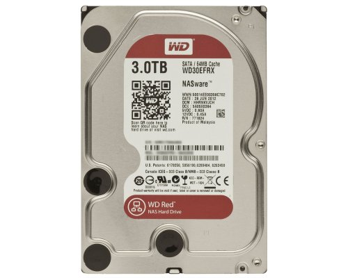 HD SATA3 3TB WESTERN DIGITAL CAVIAR RED WD30EFRX