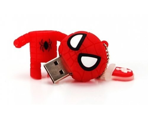 PENDRIVE 16GB CONNECTION SPIDERMAN ROJO CN300