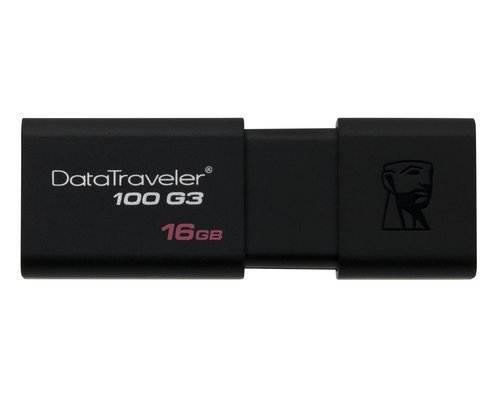 PENDRIVE 16GB KINGSTON DATATRAVELER DT100G3 USB3.0