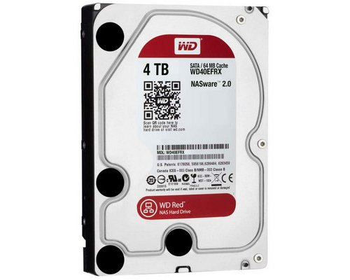 HD SATA3 4TB WESTERN DIGITAL CAVIAR RED WD40EFRX
