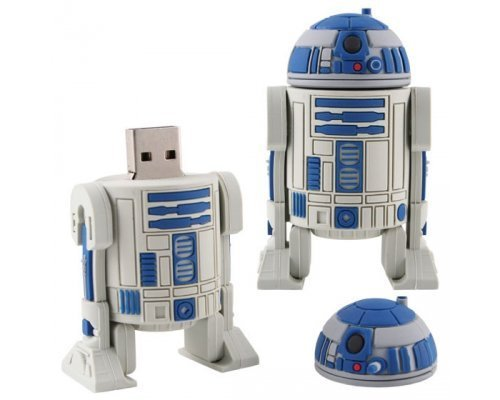 PENDRIVE ORIGINAL 16GB R2-D2 (STAR WARS)