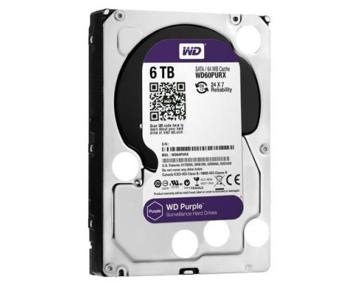 HD SATA3 6TB WESTERN DIGITAL PURPLE WD60PURX