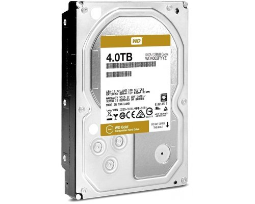 HD 4TB WESTERN DIGITAL GOLD DATACENTER WD4002FYYZ