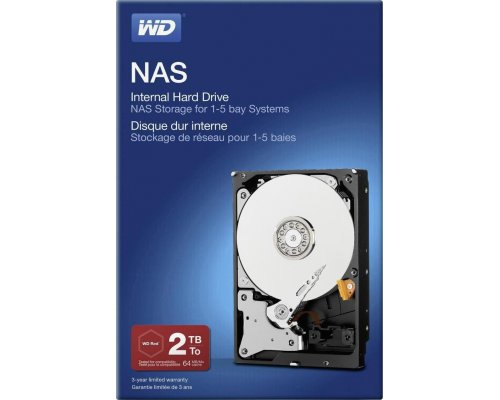 HD 2TB WESTERN DIGITAL NETWORK NAS RETAIL