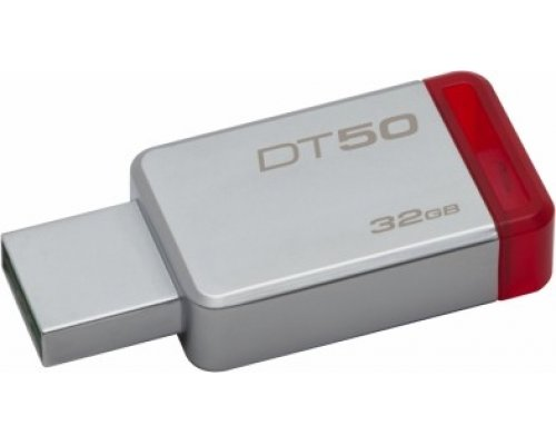 PENDRIVE 32GB KINGSTON DT50 USB3.1 ROJO