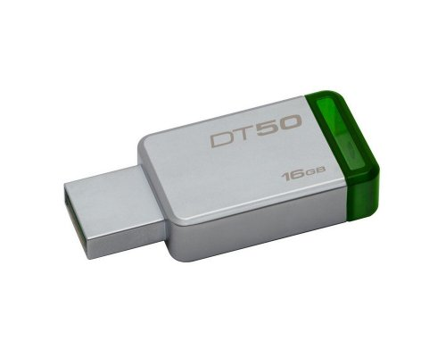 PENDRIVE 16GB KINGSTON DT50 USB3.1 VERDE