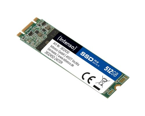 SSD M.2 SATA 512GB INTENSO TOP PERFORMANCE 3833440