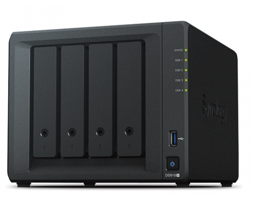 NAS 4HD SYNOLOGY DS918+ 4GB