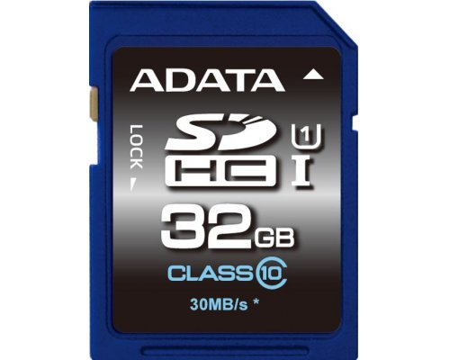 SECURE DIGITAL HC 32 GB CLASE10 ADATA