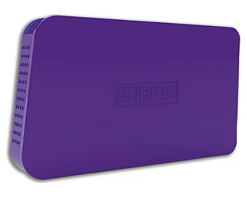 "CAJA EXTERNA USB 2.5"" SATA PURPLE APPROX"