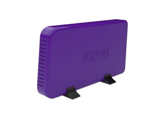 "CAJA EXTERNA USB 3.5"" SATA PURPLE APPROX"