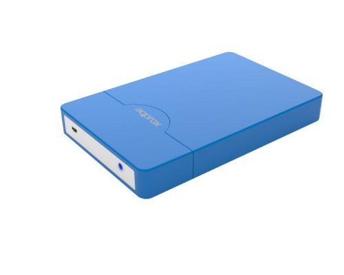 "CAJA EXTERNA USB 2.5"" SATA SCREWLESS BLUE APPROX"