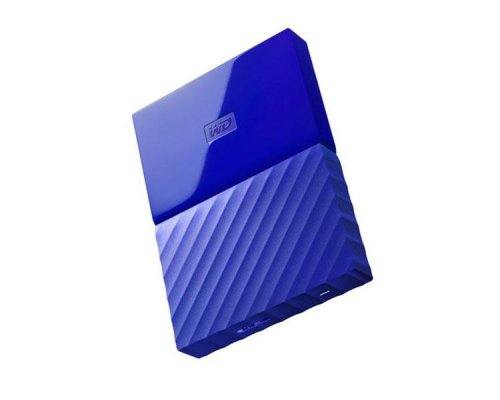 HDD EXTERNO WD 2.5 2 TB 3.0 MY PASSPORT WORLDWIDE BLUE
