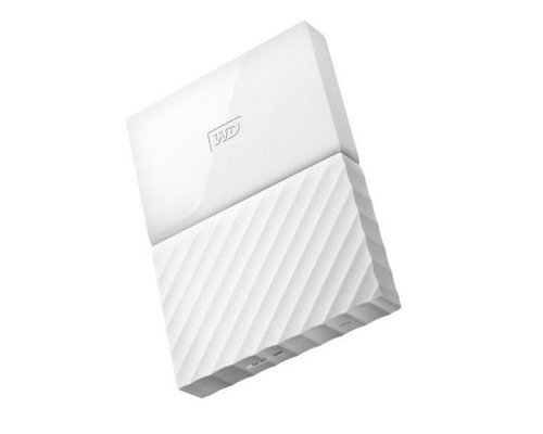 HDD EXTERNO WD 2.5 4 TB 3.0 MY PASSPORT WORLDWIDE WHITE