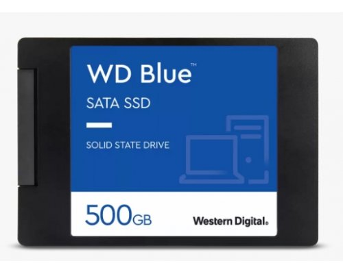 SSD 500GB WESTERN DIGITAL BLUE 3D SATA3