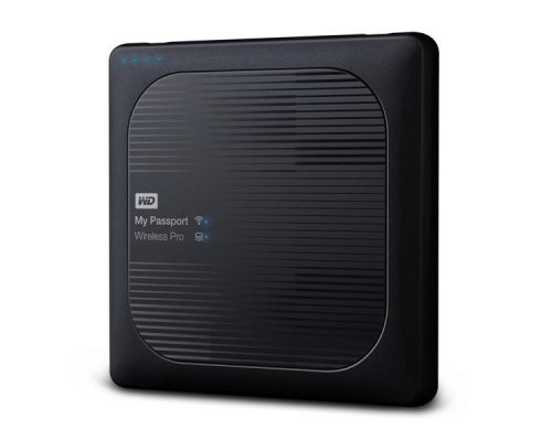 HDD EXTERNO WD 2.5 4 TB 3.0 MY PASSPORT WIRELESS PRO BLACK