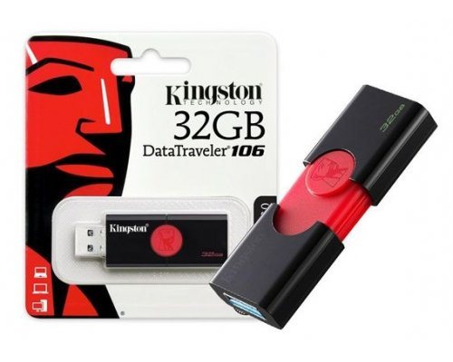 PENDRIVE 32GB KINGSTON DT106 USB3.1