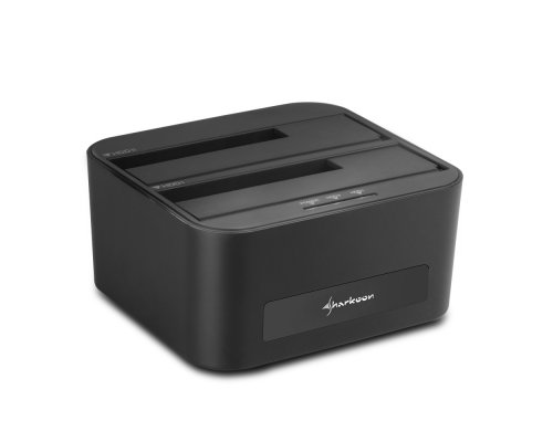 DOCK 2HD SHARKOON SATA QUICKPORT XT DUO CLONE USB3.0