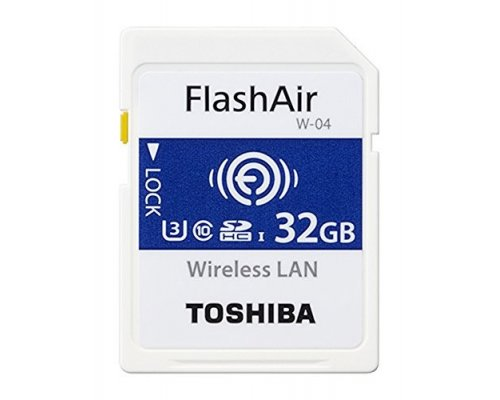 MEMORIA SD 32GB TOSHIBA WIFI FLASHAIR W-04