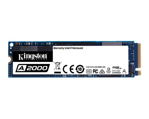 SSD M.2 NVMe 250GB KINGSTON A2000 PCIe GEN3x4