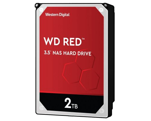 HD SATA3 2TB WESTERN DIGITAL CAVIAR RED WD20EFAX