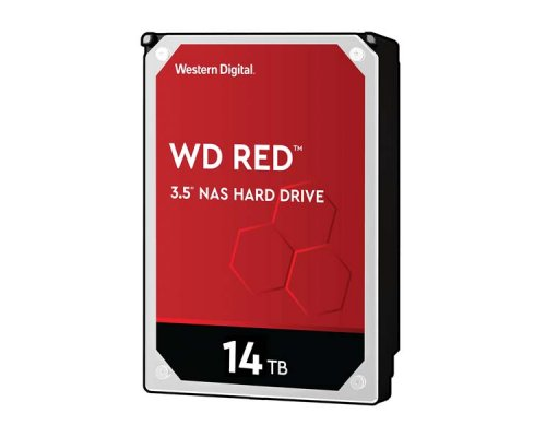 HD SATA3 14TB WESTERN DIGITAL CAVIAR RED WD140EFFX