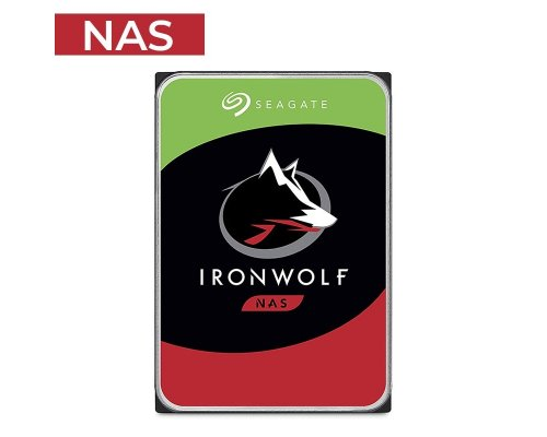 HD 6TB SEAGATE IRONWOLF ST6000VN0033