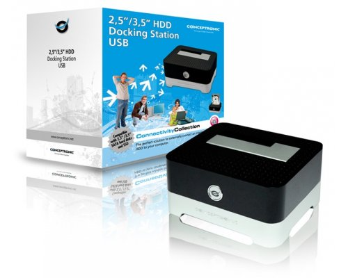 "DOCK HD CONCEPTRONIC 2.5"" / 3.5"" USB 2.0"