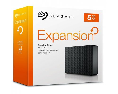"HD EXTERNO 3.5"" SEAGATE 5TB EXPANSION USB3.0"