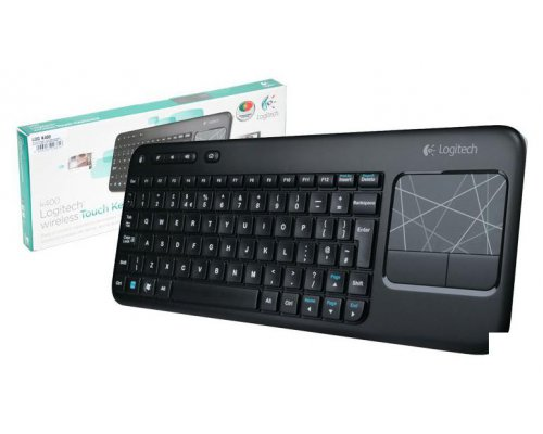 TECLADO + TOUCHPAD LOGITECH WIRELESS TOUCH K400